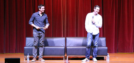 Armageddon Expo 2016 - Auckland - Oct 22 - James and Oliver Phelps Harry Potter Panel - Header Image (Photo credit: Tracey Wong)