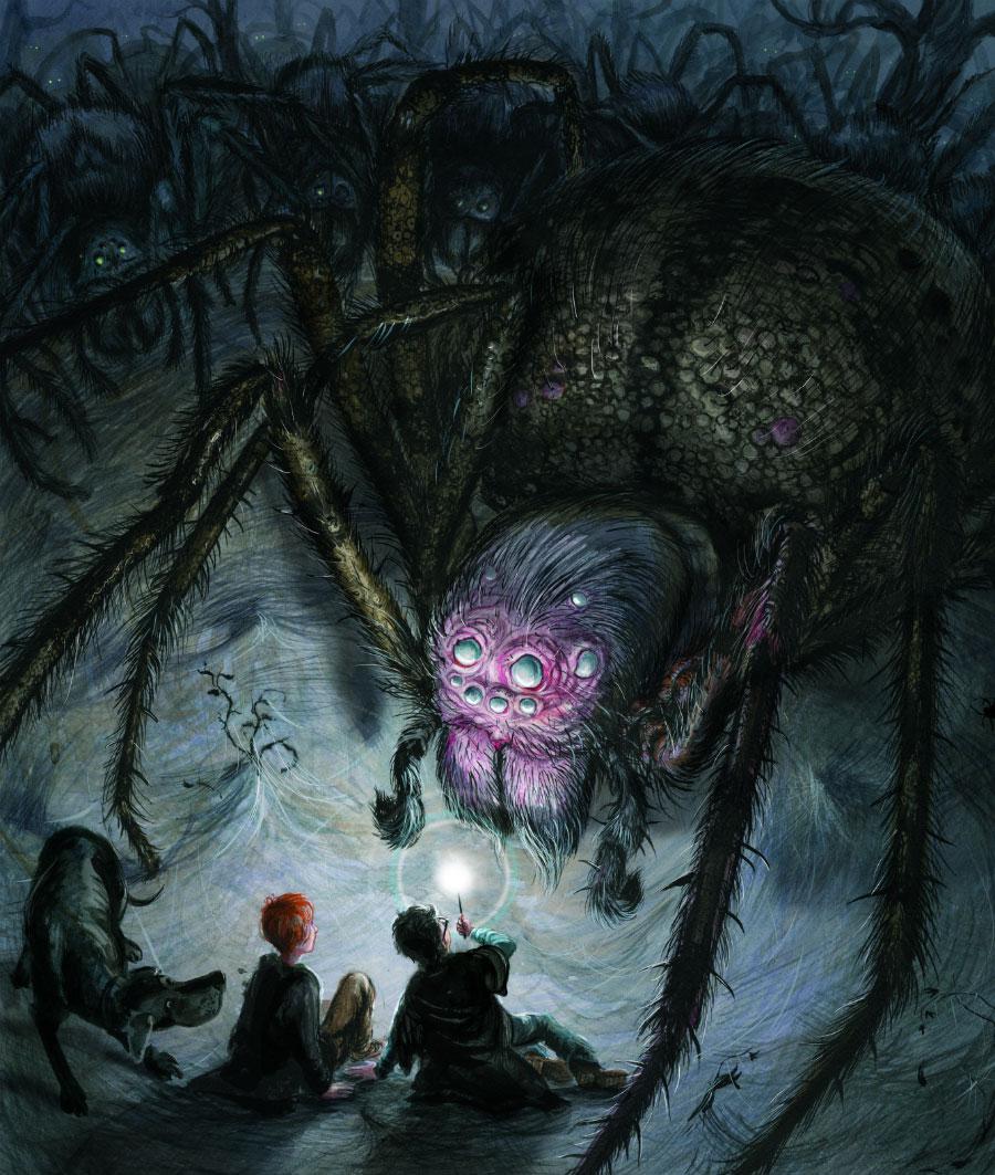Aragog illustration