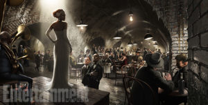 Fantastic Beasts and Where to Find Them (2016) The Blind Pig Speakeasy Concept Art