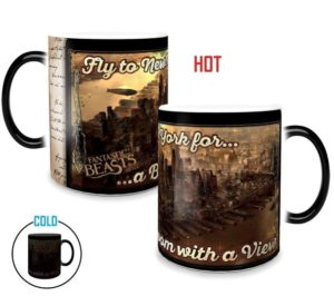 """""""Fantastic Beasts"""" Broom with a View Morphing Mug from Film Cells Ltd."""