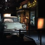 "The Ford Anglia from ""Harry Potter and the Chamber of Secrets"""