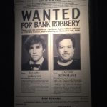 Wanted poster for Newt Scamander and Jacob Kowalski