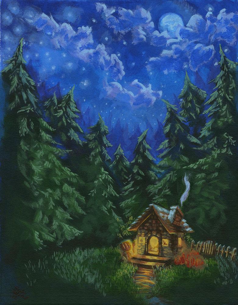 "Sophia Del Plato – ""Hagrid's Hut"""