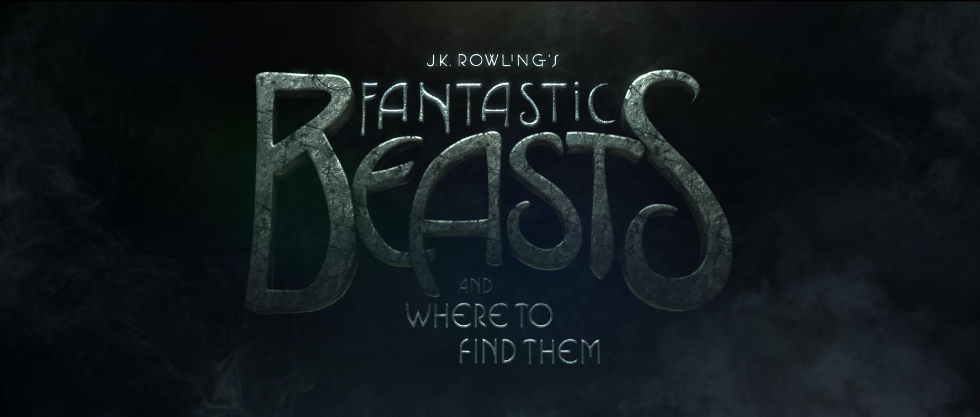 """""""Fantastic Beasts"""" logo concept 1"""