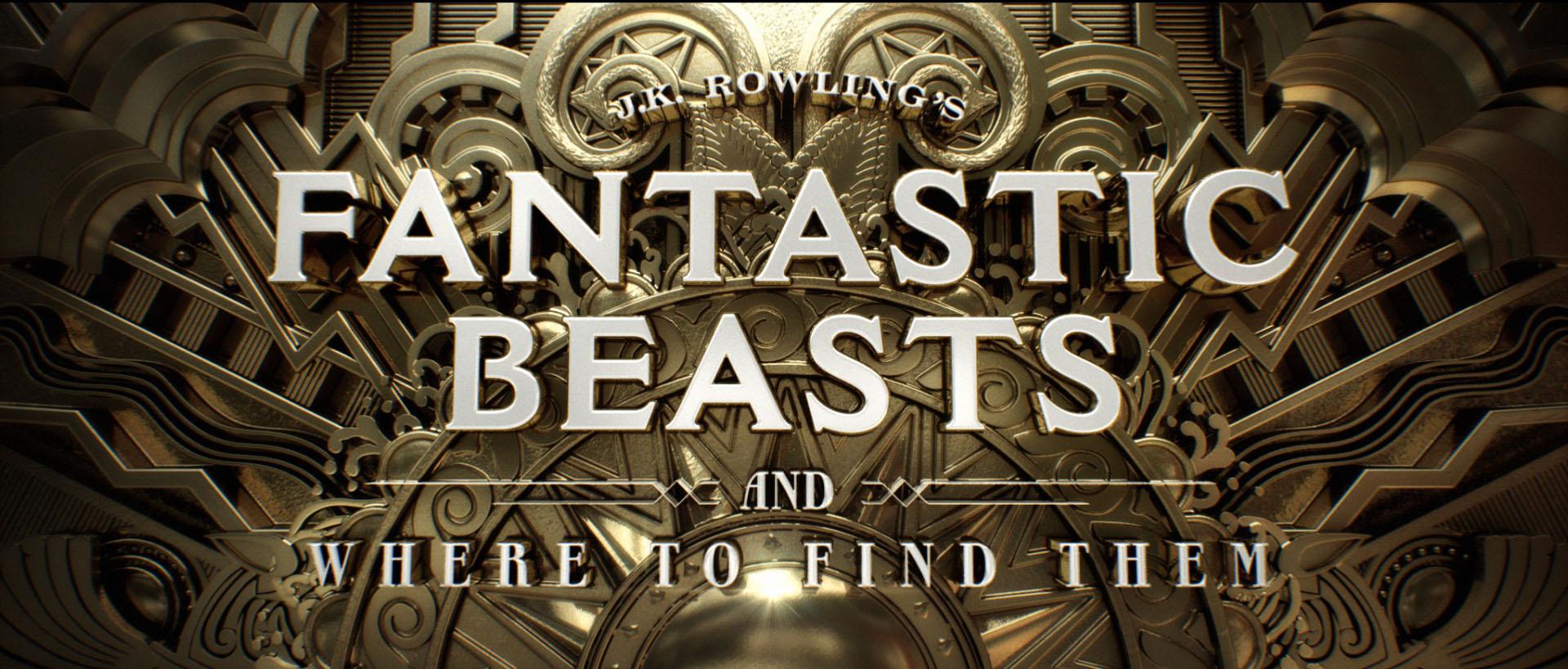 """""""Fantastic Beasts"""" logo concept 11"""