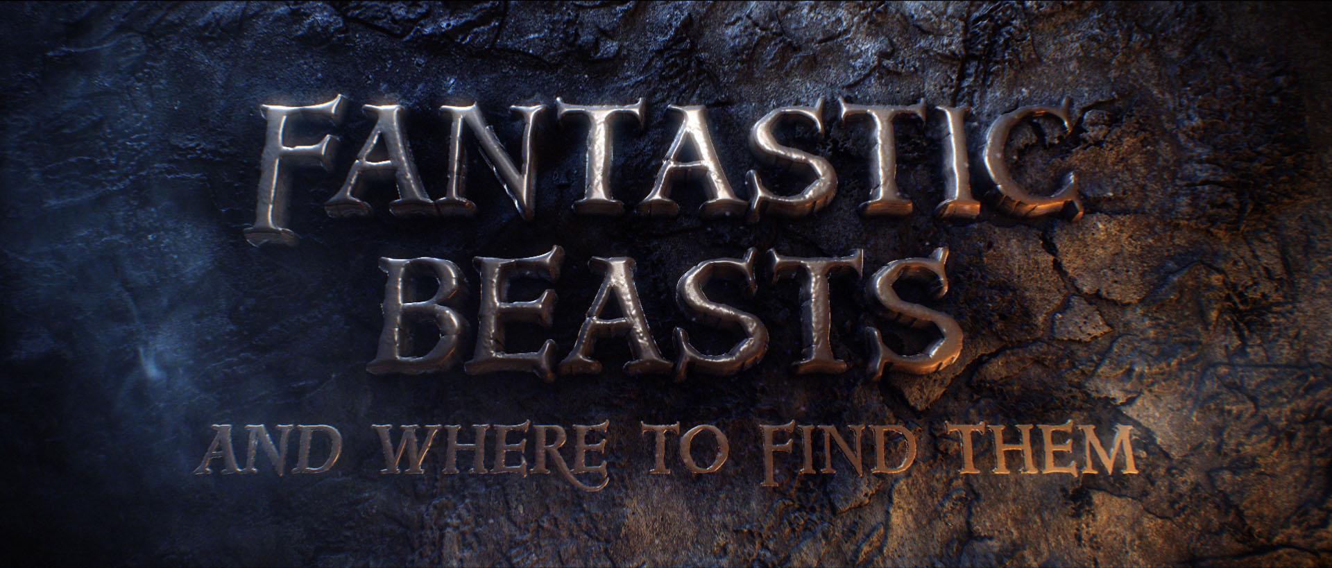 """""""Fantastic Beasts"""" logo concept 14"""
