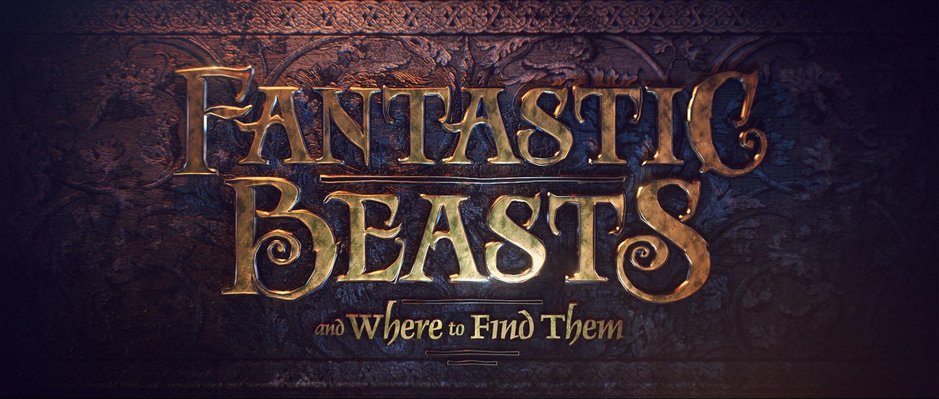 """""""Fantastic Beasts"""" logo concept 15"""
