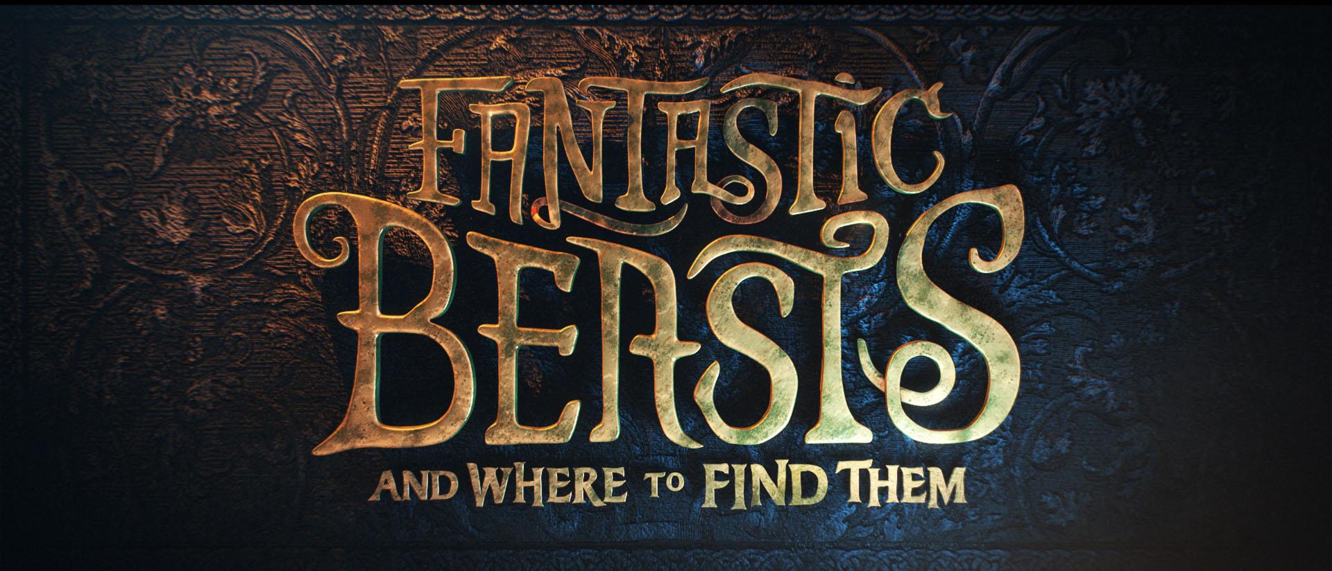 """""""Fantastic Beasts"""" logo concept 16"""