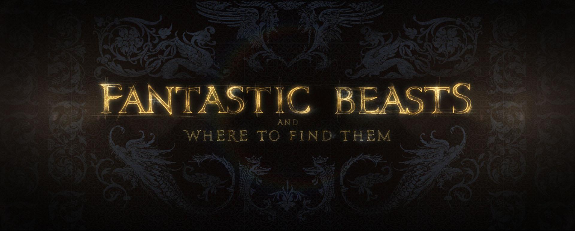 """""""Fantastic Beasts"""" logo concept 17"""