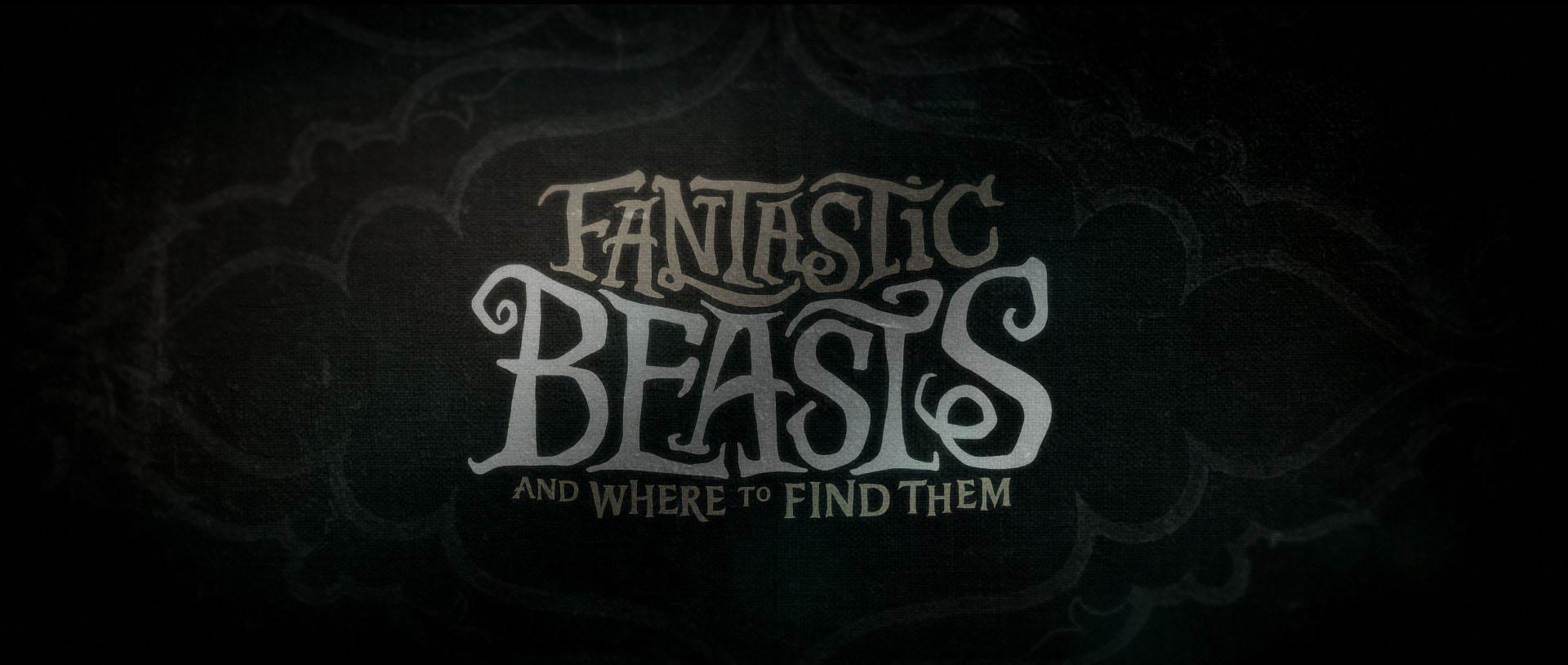 """""""Fantastic Beasts"""" logo concept 18"""