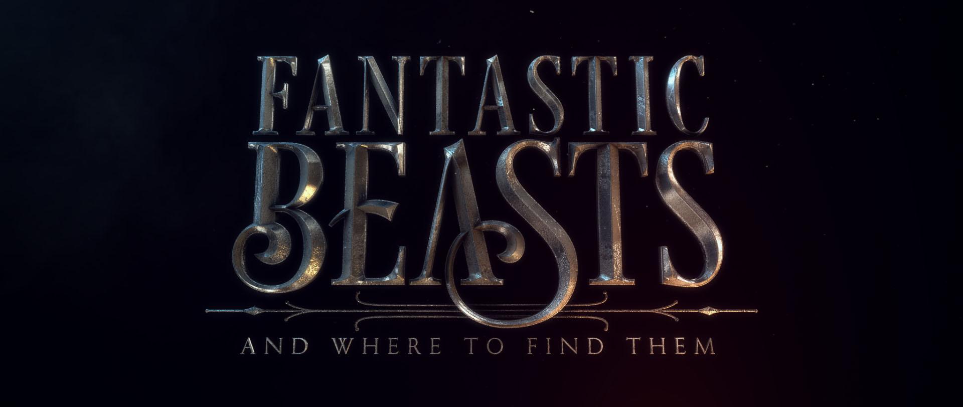"""""""Fantastic Beasts"""" logo concept 19"""