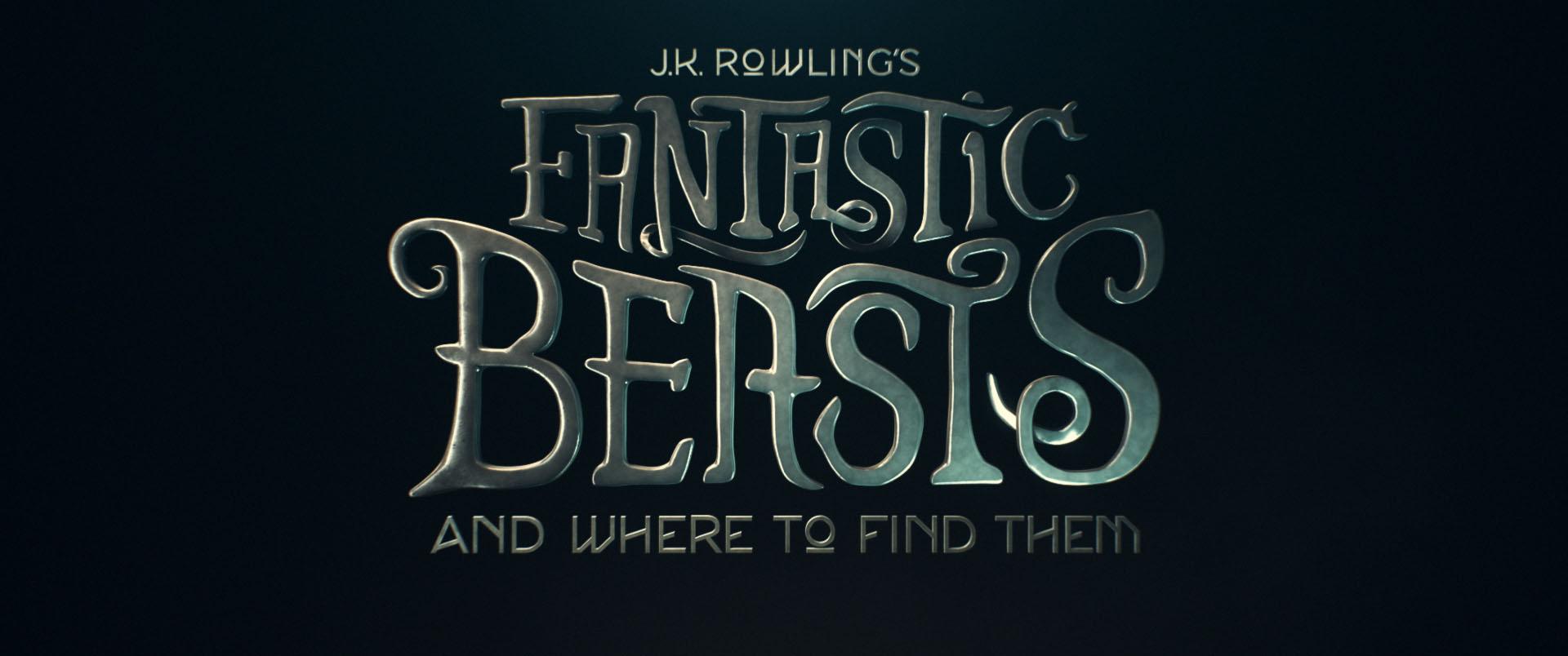 """""""Fantastic Beasts"""" logo concept 2"""