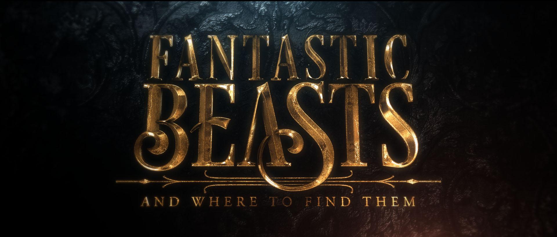 """""""Fantastic Beasts"""" logo concept 20"""