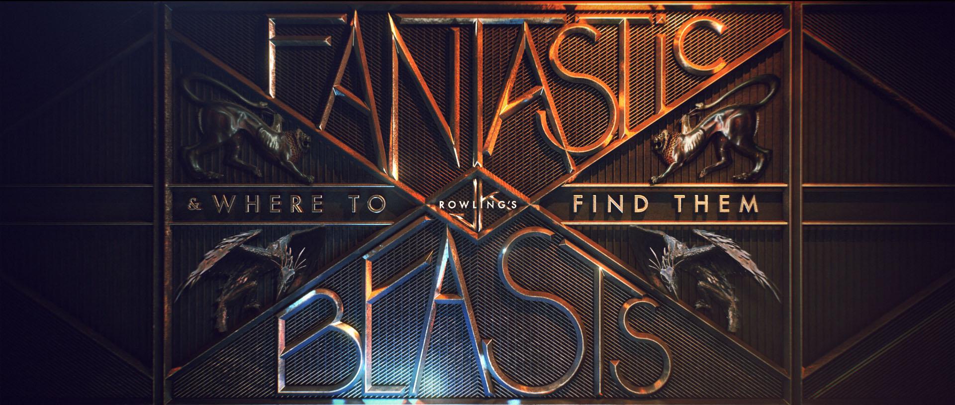 """""""Fantastic Beasts"""" logo concept 3"""
