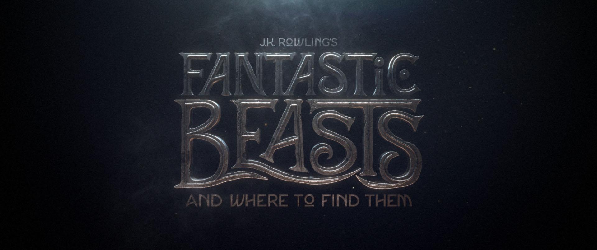 """""""Fantastic Beasts"""" logo concept 4"""