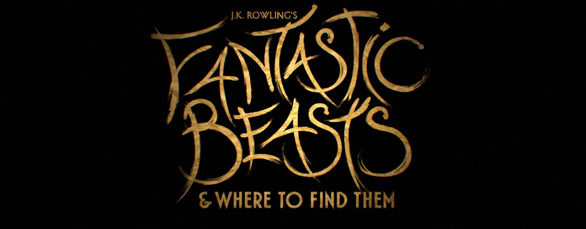 """""""Fantastic Beasts"""" logo concept 5"""