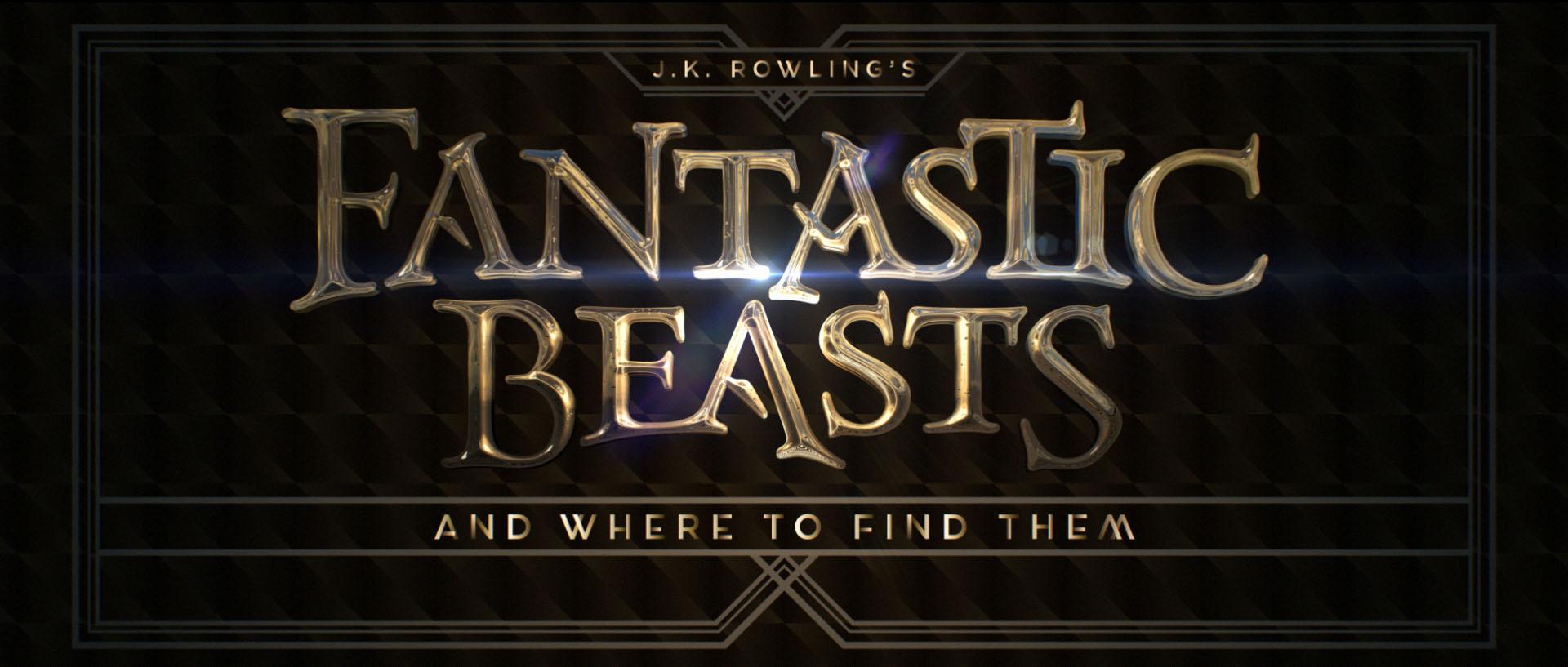 """""""Fantastic Beasts"""" logo concept 6"""