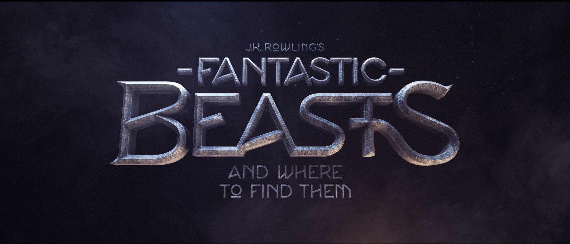 """""""Fantastic Beasts"""" logo concept 7"""