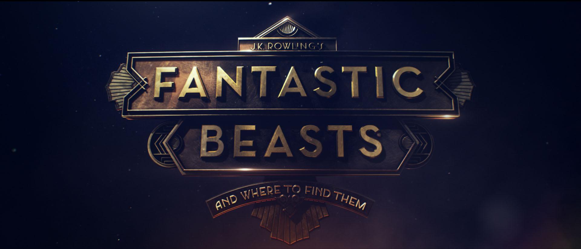 """""""Fantastic Beasts"""" logo concept 8"""