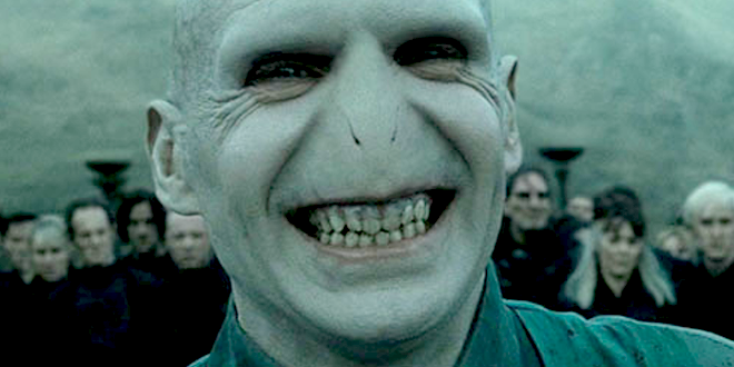 Voldemort laughing
