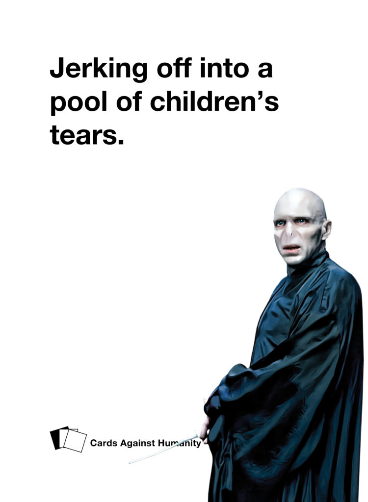 Voldemort Cards Against Humanity