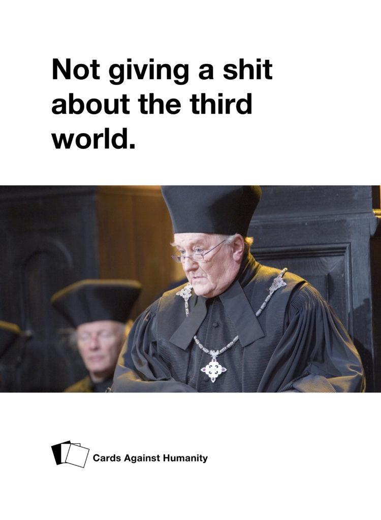 Cornelius Fudge Cards Against Humanity