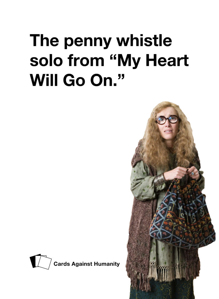 Trelawney Cards Against Humanity