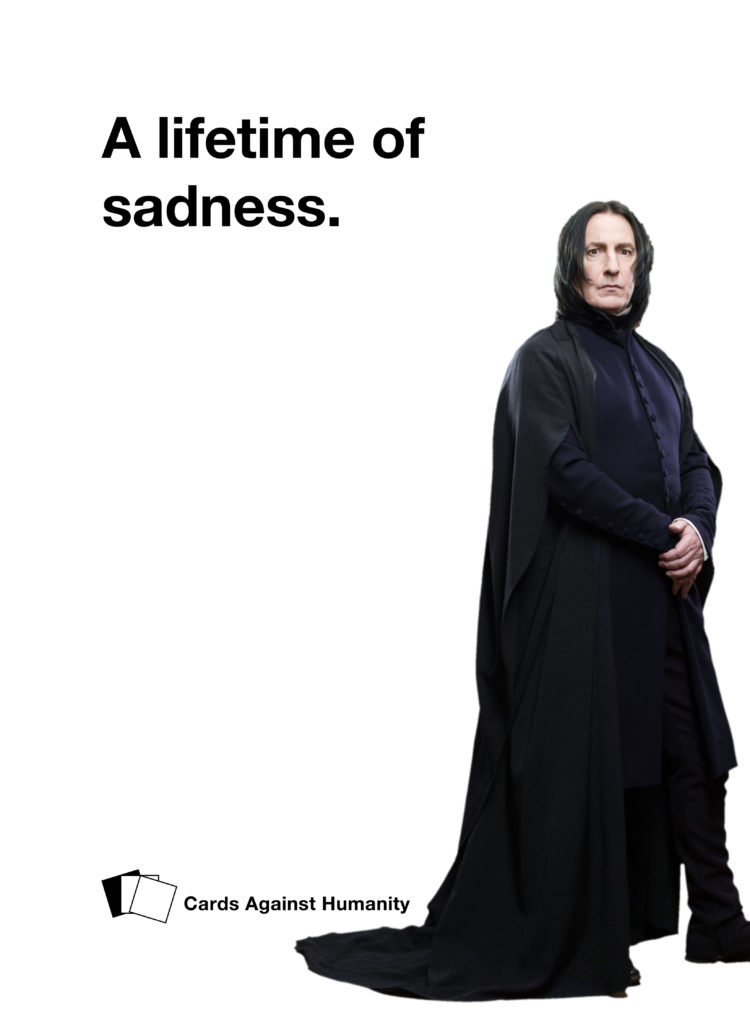 Severus Snape Cards Against Humanity