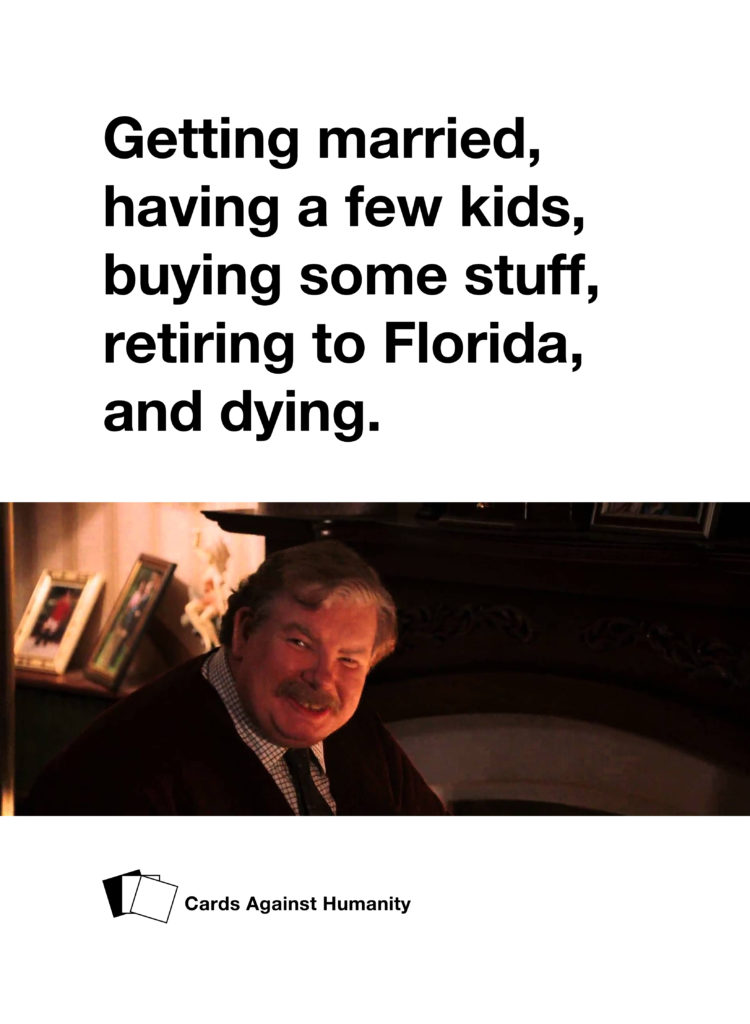 Vernon Dursley Cards Against Humanity
