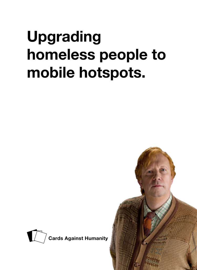Arthur Weasley Cards Against Humanity
