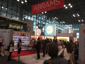 Abrams open booth setup