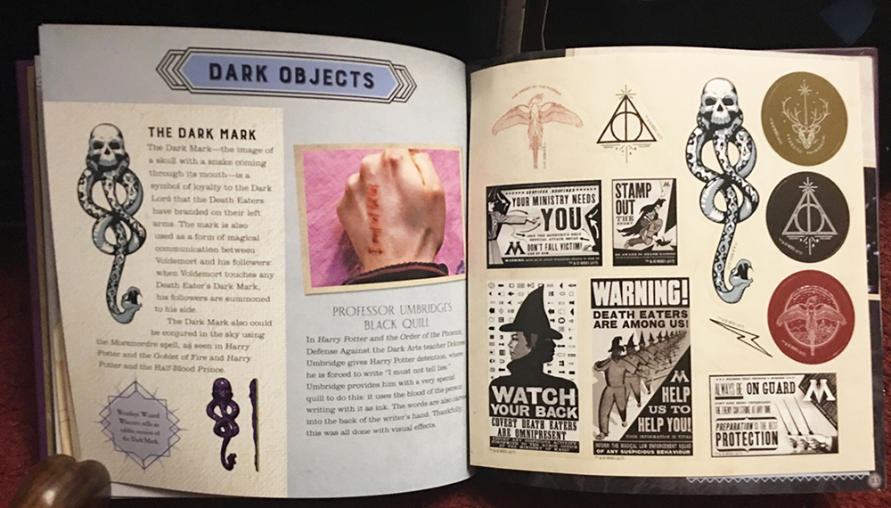 Look Inside Candlewick Releases The Dark Arts A Movie Scrapbook