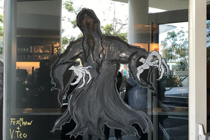 HP Starbucks Art