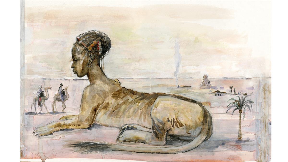Sphinx illustration