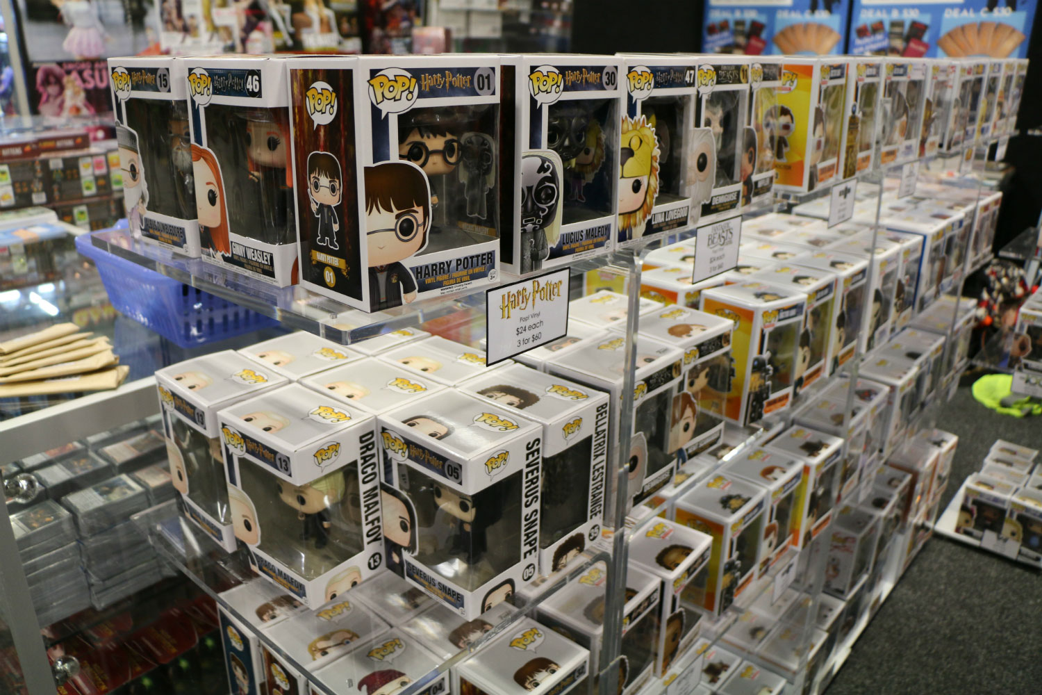 Armageddon Expo 2017 – Auckland – Harry Potter Merchandise – 1 (Photo credit: Tracey Wong)