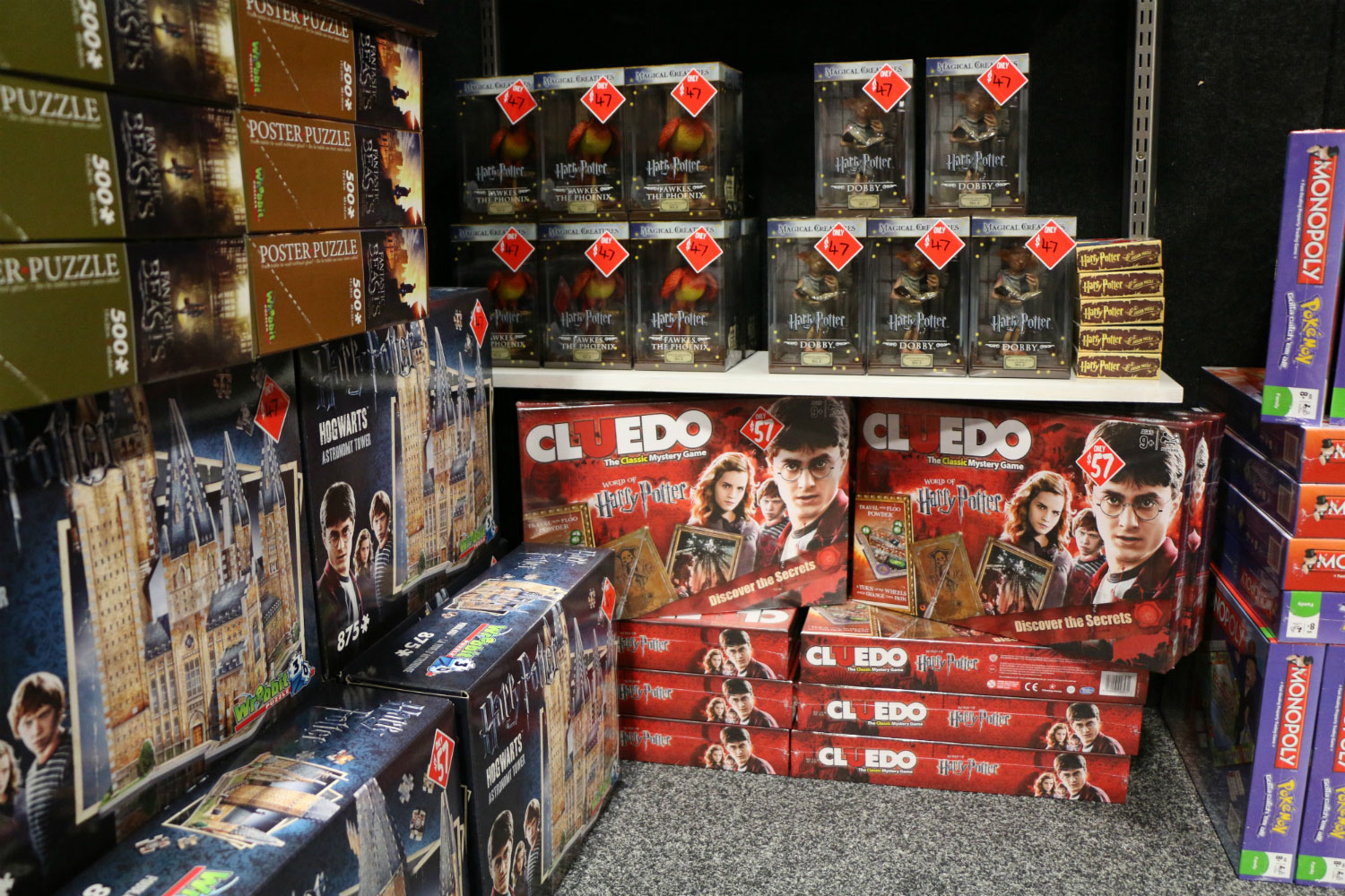 Armageddon Expo 2017 – Auckland – Harry Potter Merchandise – 9 (Photo credit: Tracey Wong)