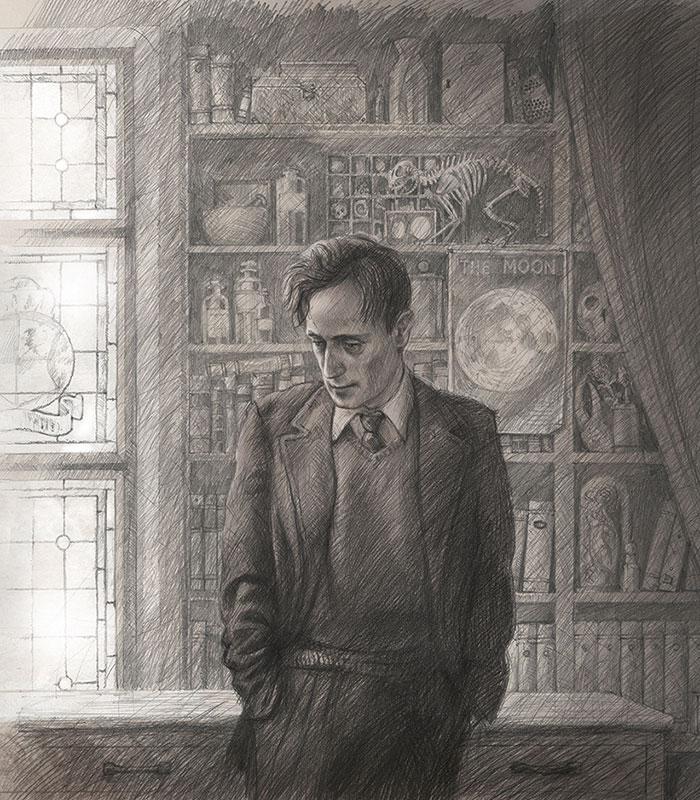 Remus Lupin illustration