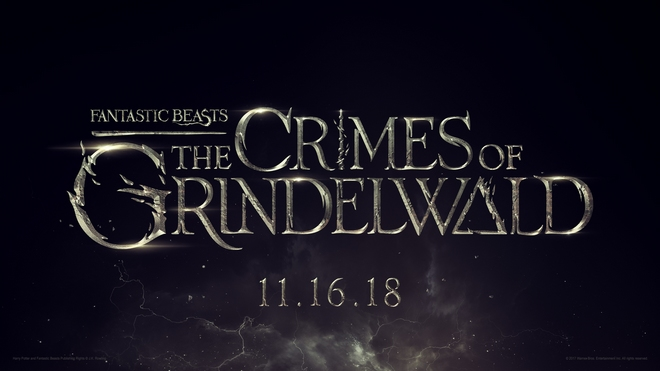 """Fantastic Beasts: The Crimes of Grindelwald"": title treatment"