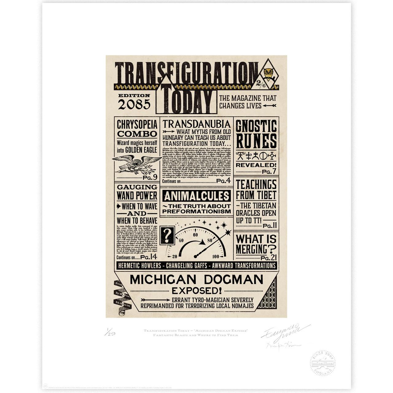 Transfiguration Today: Michigan Dogman Exposed