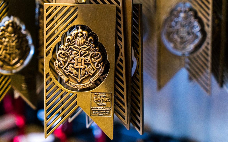 Hogwarts Crest Banner Ornament