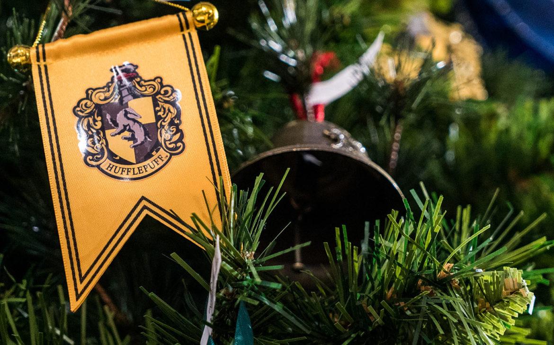 Hufflepuff Banner Ornament