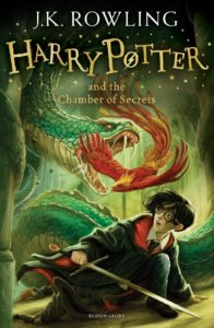 """UK Children's Cover of """"Harry Potter and the Chamber of Secrets"""""""