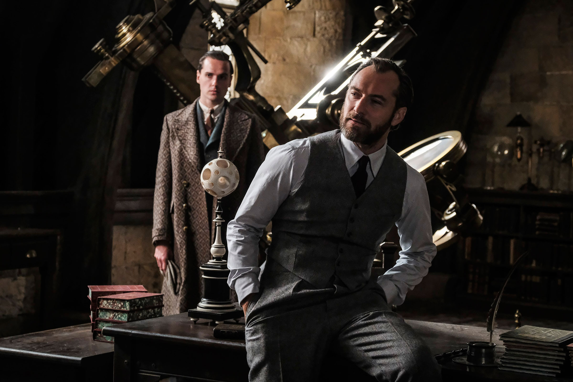 """Fantastic Beasts: The Crimes of Grindelwald"": Albus Dumbledore (Jude Law)"