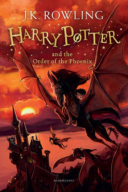 """UK Children's Edition of """"Harry Potter and the Order of the Phoenix"""""""