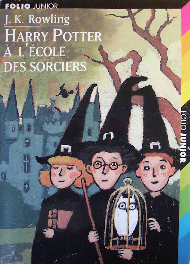 French original Folio Junior cover