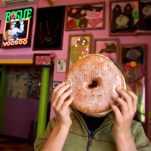 VooDoo donut as big as your head