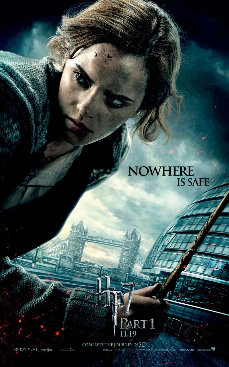 Emma Watson in Deathly Hallows