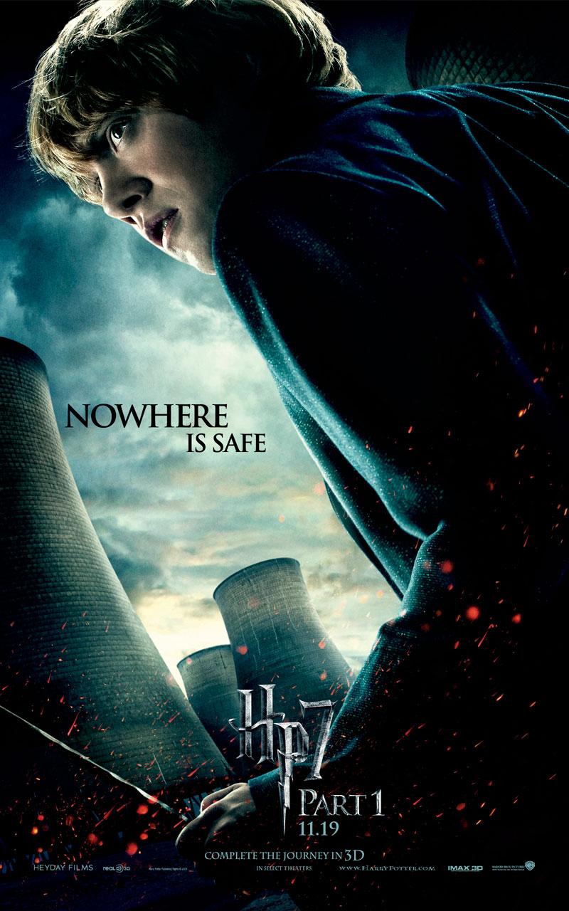 Rupert Grint in Deathly Hallows