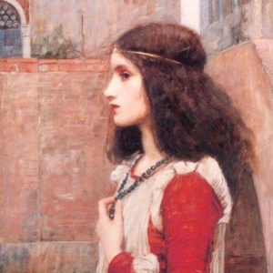 Painting of Juliet from Romeo and Juliet by William Shakespeare
