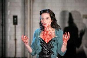 Kate Fleetwood as Lady Macbeth in William Shakespeare's Macbeth